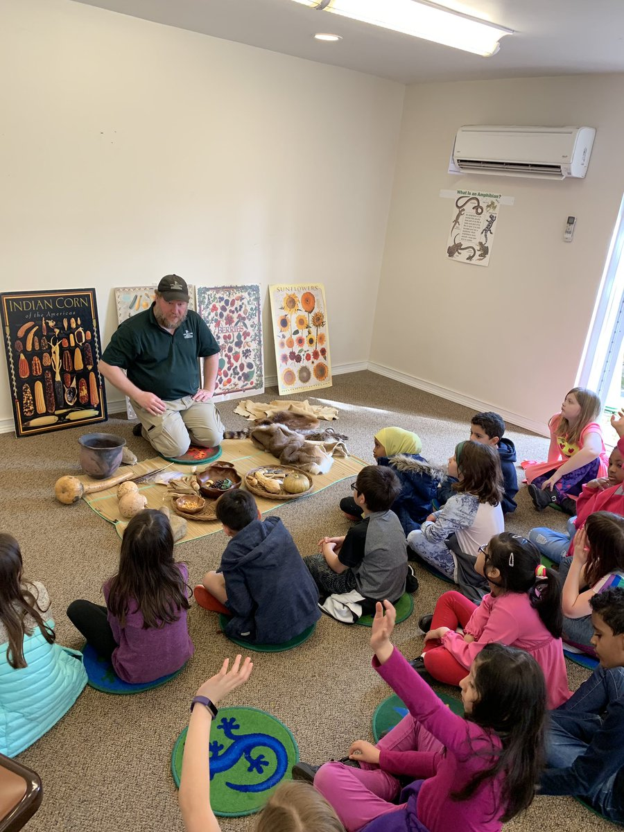 2nd-graders-learning-about-native-americans-on-a-great-field-trip-to-the-gulf-branch-nature-center-campbellaps-https-t-co-sz7lzl4rkl