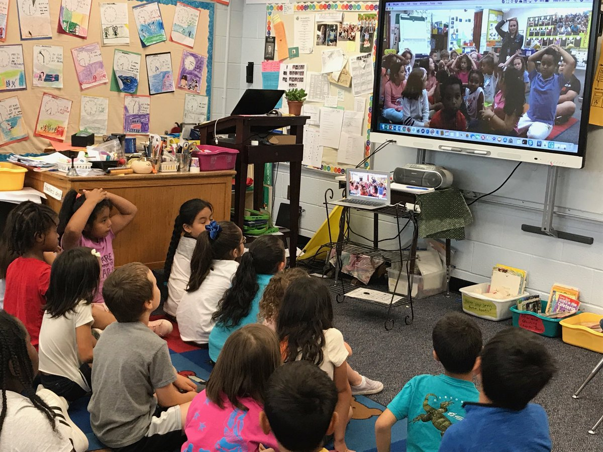 campbell-1st-graders-meet-their-pen-pals-from-randolph-on-skype-https-t-co-l40wbegksq