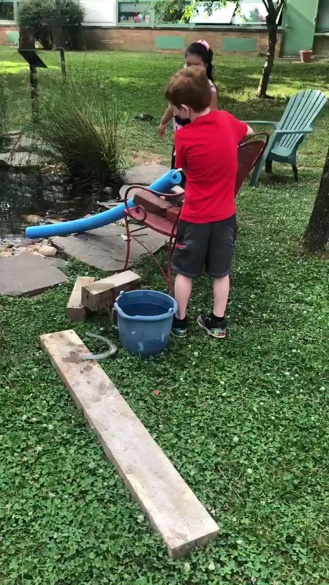 kindergarten-ss-work-together-to-build-a-waterfall-that-flows-into-our-pond-campbellaps-https-t-co-9kfiejt4g7